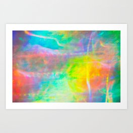 Prisms Play Of Light 1 Art Print