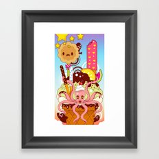 Suspended in Gaffa Framed Art Print