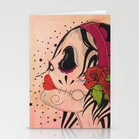 gypsy Stationery Cards featuring Gypsy by Dioni Pinilla