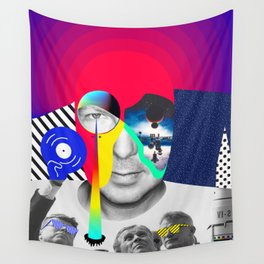 John Digweed By Sebas Rivas Wall Tapestry