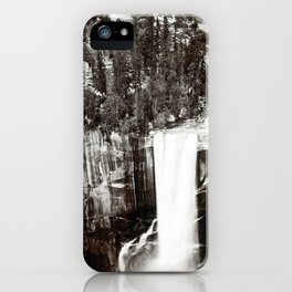 Eadweard Muybridge Pi-Wi-Ack (Shower of Stars) Vernal Fall Valley of Yosemite iPhone Case