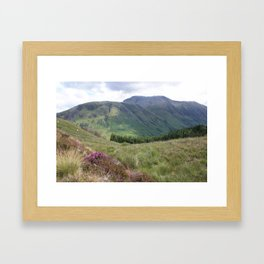 A view of Ben Nevis, Scotland Framed Art Print