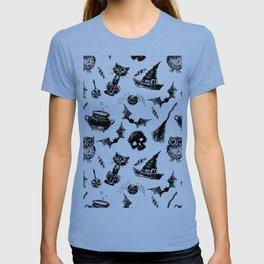 Halloween pattern design T-shirt