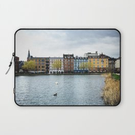 Cloudy, But Friday Laptop Sleeve