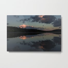 Reflection of Parker Canyon Metal Print