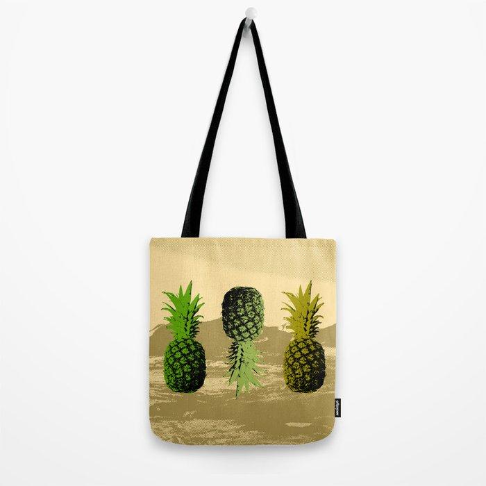 Pineapple Mountain Tote Bag