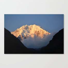 Salkantay Sunset Canvas Print