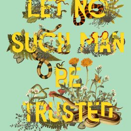 Pillow Sham - Let No Such Man Be Trusted (Green) - Heather Landis