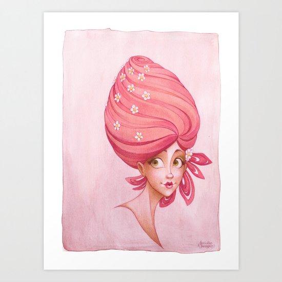 Summer Strawberry Art Print