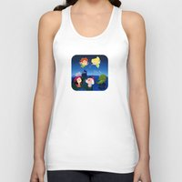 peter pan Tank Tops featuring Peter Pan by UniverseSunny