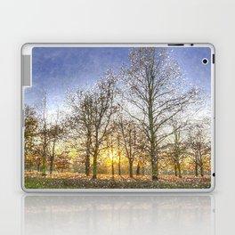 Greenwich Park London Snow Art Laptop & iPad Skin