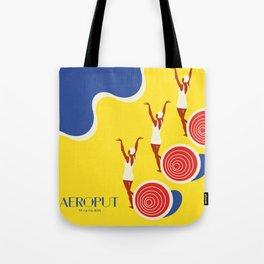 "EX-JU poster ""AEROPUT"" Tote Bag"