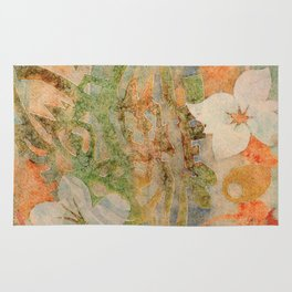 Tiki Flower Rug