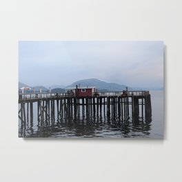 Icy Strait Point  Metal Print