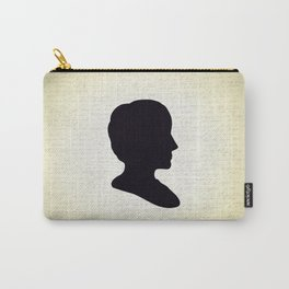 Ada Lovelace Silhouette  Carry-All Pouch