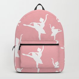 Pink and white Ballerina Backpack