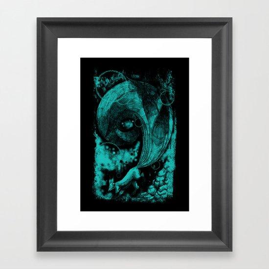 9 tails Framed Art Print