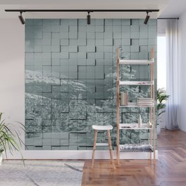 Winter collage Wall Mural