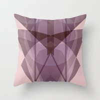 glass Throw Pillows featuring Glass by La Señora
