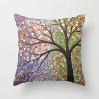 constellations Throw Pillows featuring Constellations  by Amy Giacomelli