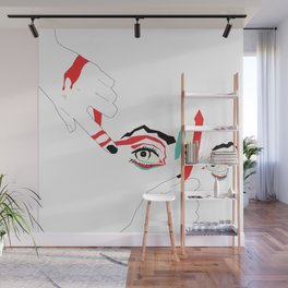 The Crowd Pleaser Wall Mural