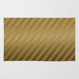 Gold Carbon Rug