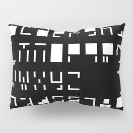 Alphanumerique Pillow Sham