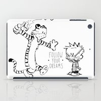 hobbes iPad Cases featuring Follow Your Drams by Scott Tarbox