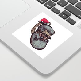 Saint Nick Sticker