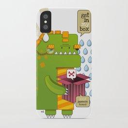 Godzilla get´s hungry!!! iPhone Case