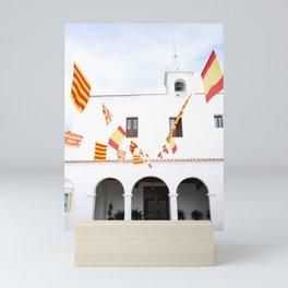 Spanish Church, Ibiza, Spain - Wall Art Photo Print Mini Art Print