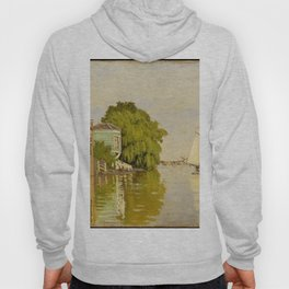 Claude Monet - Houses on the Achterzaan.jpg Hoody
