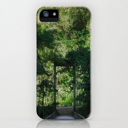Bridge to Machupicchu iPhone Case