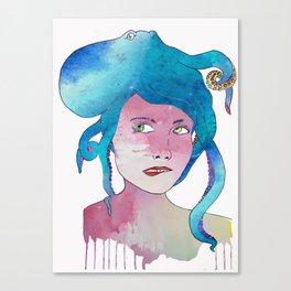 Bad Hair Day Canvas Print