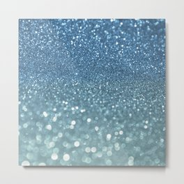 Bubbly Sea Metal Print