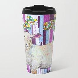 ALIVE INSIDE Metal Travel Mug
