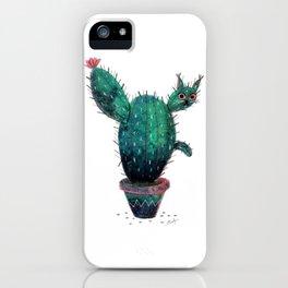 Cactus Cat iPhone Case