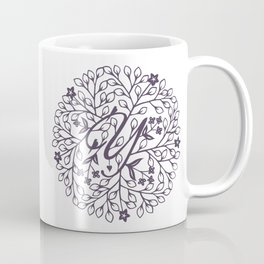 Y - monogrammed initial Y print Coffee Mug