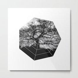 Graphic B8 Metal Print