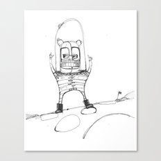 Spacebear Canvas Print