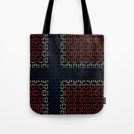 digital Flag (norway) Tote Bag