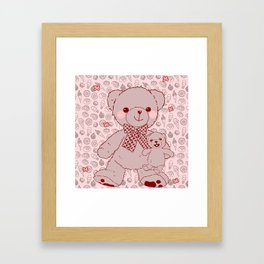 The Adventures of Bear and Baby Bear-Pastry2 Framed Art Print