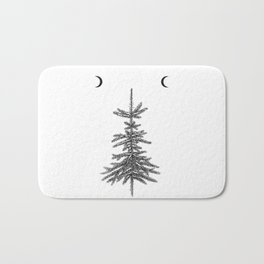Fir tree Bath Mat
