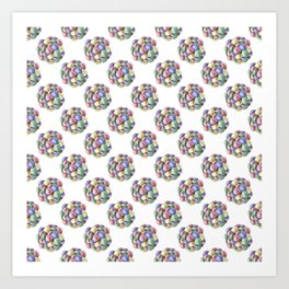 Everlasting gobstopper Art Print