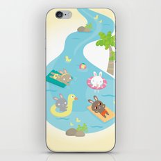 the pool iPhone & iPod Skin