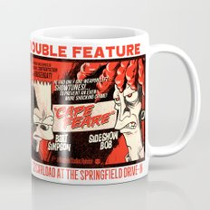 Double Scary Double Feature Coffee Mug