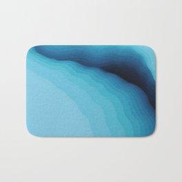 Cubed Glacier I Bath Mat
