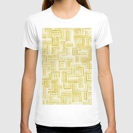 Golden Doodle weave T-shirt