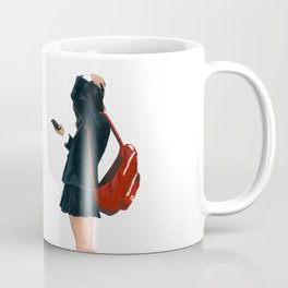 Tiring schoolgirl Coffee Mug