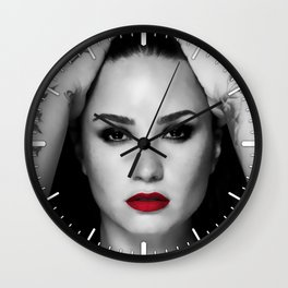 Demi #9 Wall Clock